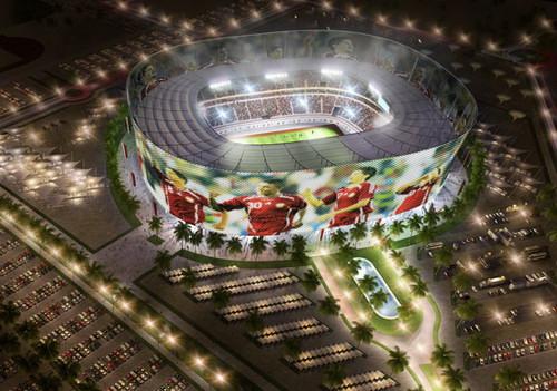 معمار - ایده های قطر برای جام جهانی ۲۰۲۲